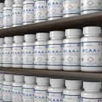 BCAA   Comprimés de BCAA   Acides aminés à chaîne ramifiée 1200mg   BCAA+ avec ajout de vitamine B6 pour améliorer l'absorption   Leucine, Isoleucine Et Valine dans un ratio optimal de 2 1 1   Comprimés d'acides aminés (pas en capsules)   Convient aux hommes et aux femmes   Produit du Royaume-Uni et certifié GMP   Nutrition OSHUNsport   Offre de lancement limitée