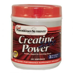 CREATINE POWER 5000 – 2 LB for Horses by Peak Performance