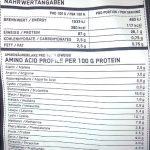 ESN Micellar Casein 2x Sachet de 1000g–Saveur: Citron de Cake + Lemon de Cake = 2kg