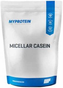 My Protein Micellar Casein Protéine Laitière Saveur Fraise 1 kg