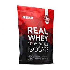 Prozis 100% Véritable Whey Protéine Isolat Poudre 1000g – Goût Incroyable Chocolat pour la Perte de Poids, la Récupération Musculaire et le Culturisme – Faible Teneur en Glucides – 40 Doses