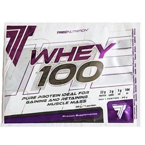 Trec Nutrition 10 Whey 100 Protéine de Lactosérum Saveur Cerise/Chocolat – Lot de 2