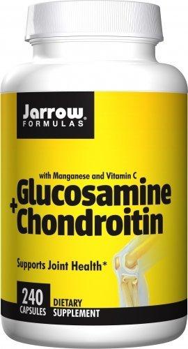Jarrow Formulas Glucosamine + Chondroitin, 240 Caps