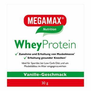Mega Max Whey Protein Drink Protéine de lactosérum vanille 30g sans Lactose