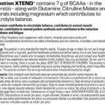 Scivation – Complément alimentaire Xtend – avec BCAA – mangue – 30 portions