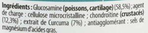 Juvamine FORMULE COMPLETE: CURCUMA, CHONDROITINE + GLUCOSAMINE, MAXI FORMAT 90 comprimés