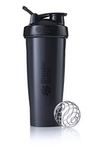 Blender Bottle Classic Loop – Protéine Shaker | Bouteille d'eau avec poignée de transport | 820 ml| full color noir