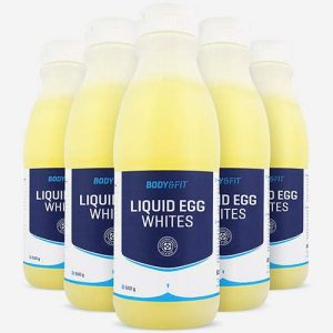 Body & Fit Blancs d'Oeufs Liquides – 6 Bouteilles de 485 ML – Pasteurisés Prêts-à-Cuisiner sans Additifs ni Conservateurs – Provenance Union Européenne