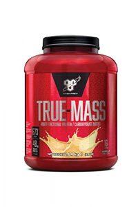 BSN True Mass – Vanille, 16 Portions – Mass Gainer – Proteines en Poudre pour Musculation Prise de Masse, 2,64 kg
