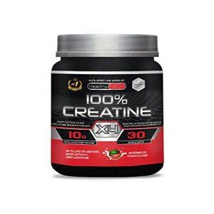 Créatine monohydrate pure micro-filtrée avec vitamine B6 | Favorise la croissance musculaire et l'endurance | La seule créatine 100% pure à saveur de pastèque | Créatine poudre | 30 doses