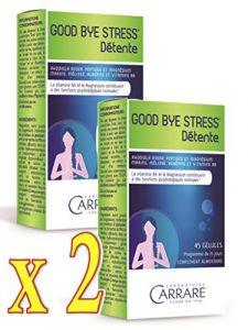 GOOD BYE STRESS Détente et dynamisme Complément alimentaire – lot de 2 Boîtes de 45 gélules végétales (2)