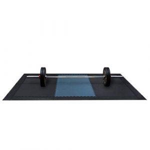 Ironsports Flex Plate-Forme pour haltérophilie 3,3 x 2,3