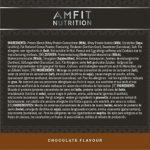 Marque Amazon – Amfit Nutrition Advanced Whey protéine de lactosérum saveur chocolat, 64 portions, 1980 g