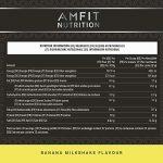 Marque Amazon – Amfit Nutrition Advanced Whey protéine de lactosérum saveur frappé au caramel, 32 portions, 990 g