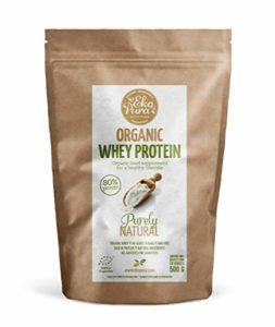 Organic Whey Protein – Naturel – 80% de Protéines – Protéine de Lactosérum Bio Certifié – Sans Additifs – 500 g