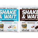 Scitec Nutrition Shakes Nutritifs Shake/Wait 10 Sachet Box