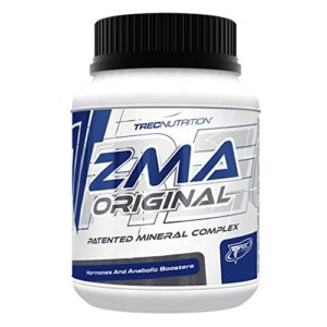 Trec Nutrition – ZMA Original – 120 capsules/60 portions – Booster de testostérone Non stéroïdien Naturel !