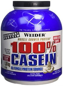 WEIDER Casein 100% Fruits Rouges 1,8 kg