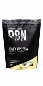 PBN – Protéines en poudre de lactosérum (whey) goût vanille, 1kg