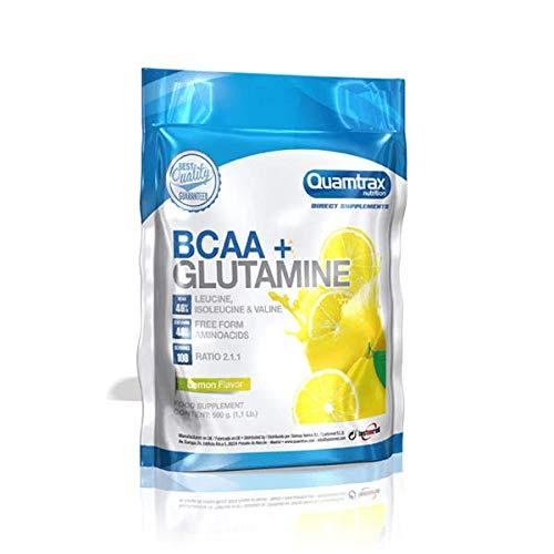 QUAMTRAX BCAA + GLUTAMINE (GRS) – LIMON