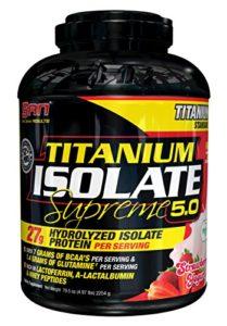 San FID33924 Titanium Isolate Supreme Protéines Whey
