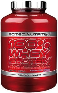 SCITEC NUTRITION 100% WHEY PROFESSIONNEL (2,35 KGS) – COOKIES & CREAM