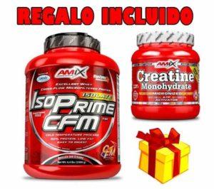 AMIX ISO PRIME CFM (2 kg) VAINILLE + CREATINE 300 G