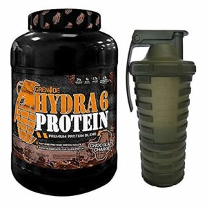 Grenade Hydra 6 Protéines Poudre (Whey Protein Isolate/Caséine Micellaire) 52 portions 1,816 kg
