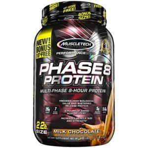 Muscletech Performance Series Phase 8 2,2 lb Milk Chocolate Protéine Whey