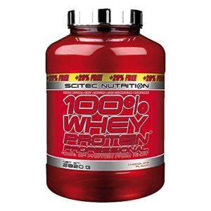 Scitec Nutrition – 100% Whey Protein Professional – Parfum Chocolat-Noisette – 2,820 kgs