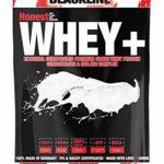 sinob Honest Whey Protein – Sans saveur – 1 x 1000 g. 12,5% d'isolats. Poudre de protéine soluble instantanée avec BCAA et EAA 'Made in Germany'