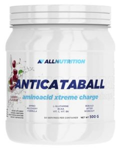 ALLNUTRITION Anticataball Aminoacid Xtreme Charge Amnios BCAA Endurance musculaire 500 g (citron)