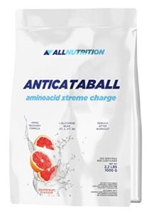 ALLNUTRITION Anticataball Aminoacid Xtreme Charge Amnios BCAA Force musculaire Endurance Bodybuilding 1000 g (Orange)