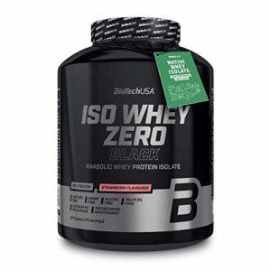 Biotech USA Iso Whey Zero Black, 2270 g Dose (Erdbeere)