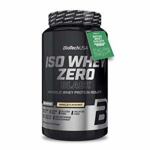 Biotech USA Iso Whey Zero Black, 908 g Dose (Vanille)