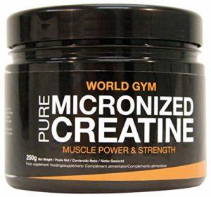 Créatine monohidrato Creatine micronized World Gym 250gr