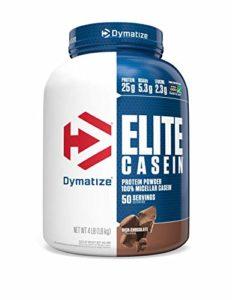 Dymatize Elite Caséine Acides Aminés Bcaa Rich Chocolat 4 lbs