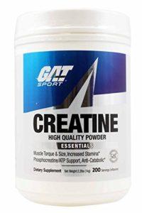 GAT Creatine Monohydrate Powder, 1000 grams