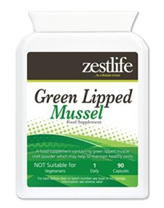 GREEN LIPPED MUSSEL 500mg 2 x 90 Has shown to be useful in the treatment of RHEUMATOID ARTHRITIS | OSTEOARTHRITIS and is a perfect partner to GLUCOSAMINE for optimum joint health