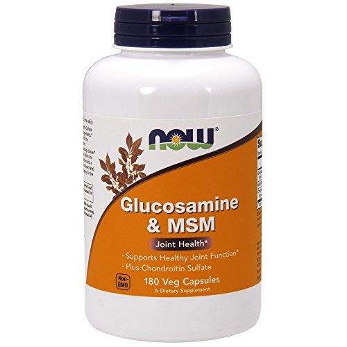 NOW Foods Glucosamine and MSM Joint Health, 180 Capsules