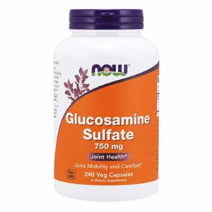 Now Foods – GLUCOSAMINE SULFATE 750mg – 240 Caps
