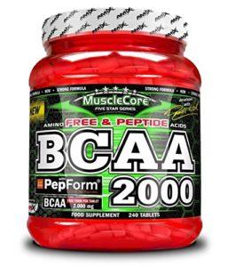 AMIX MuscleCore BCAA 2000-240 tabls.