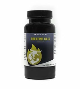 CA-X CREA BLACK MAXIMUM | 120 comprimés végétaliens | Créatine alcaline (Kre-Alkalyn) | Créatine alcaline optimisée avec de la vitamine B6 | Construction musculaire – prise de masse