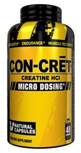 Con-cret, créatine Conviviales, Micro-dosing Naturel, 48capsules
