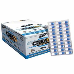 CREA9 Xtreme 120 Capsules – 4 Blisters | Matrice de 9 Créatines | Sérum musculaire hyper anabolisant | Supplément sportif | Énergie, force et endurance