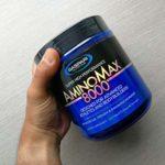 Gaspari Nutrition Amino Max 8000 Paquet de 1 x 325 Comprimés – BCAA – Monohydrate de Créatine – Taurine – Glutamine – Caséine Micellaire