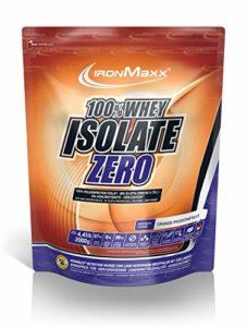 Ironmaxx 100% Whey Isolate Zero, 2000 g Beutel (Orange-Maracuja)