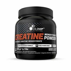 OLIMP SPORT NUTRITION Créatine Monohydrate Poudre 550 g