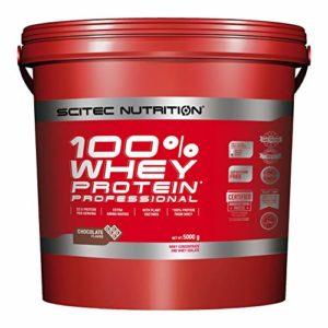 Scitec Nutrition PROTÉINE 100% Whey Protein Professional, chocolat, 5000 g