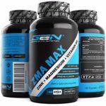 ZMA MAX – 180 capsules – Dosage élevé – Zinc + Magnésium + Vitamine B6 – Complexe de haute qualité en qualité supérieure